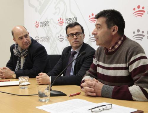Asociación Extremeña de Artesanos. Renovación Convenio Diputación de BAdajoz.