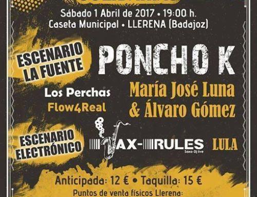 LLERENA. Festival Músicas Solidarias. 1 abril.