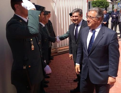 EL PEDROSO. Inauguración cuartel Guardia Civil.