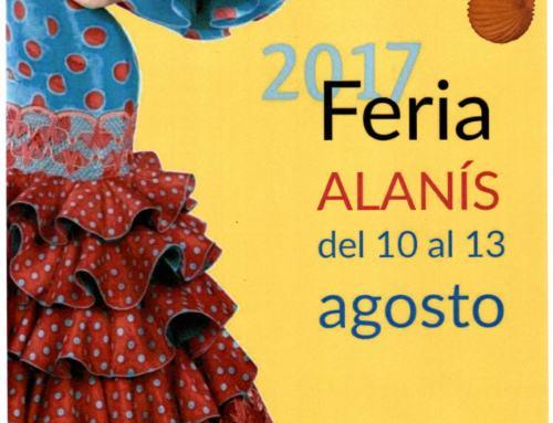 ALANIS. Feria Agosto 17.