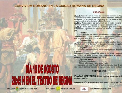"""REGINA TURDULORUM """"Convivium Romano"""" 19 ago 17."""