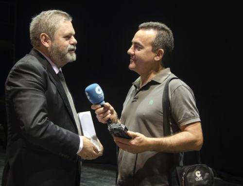 """AZUAGA. Conferencia de Miguel Duran """"Situación política y económica general de España: Posición sobre problema catalán"""""""