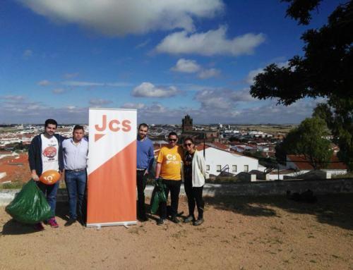 AZUAGA. 'Limpiemos nuestro entorno' Campaña promovida por JÓVENES CIUDADANOS.