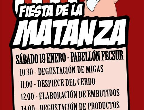 El CD AZUAGA celebra su Fiesta de la Matanza este sábado 19 de enero.