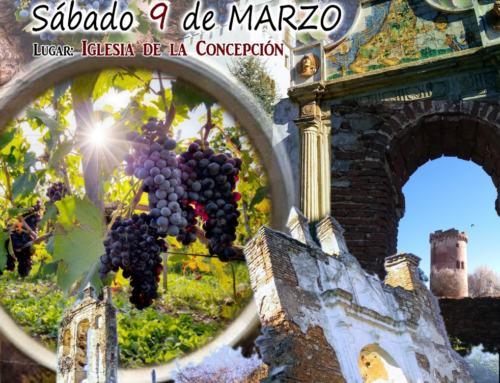 II Feria del Vino 'Ciudad de Constantina' Sábado 9/marzo/19.