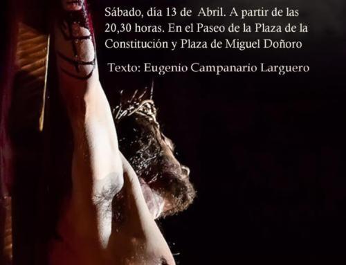 PASIÓN VIVIENTE en Valverde de Llerena (Sábado 13 abril, 20:30h).