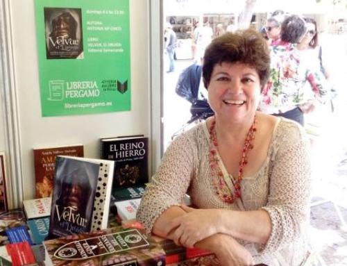 """Antonia Chico concluye la trilogía de VELVUR con """"Halixeo el espíritu de Velvur""""."""