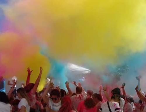 """SAN NICOLÁS DEL PUERTO celebró la """"Fiesta de los colores"""""""