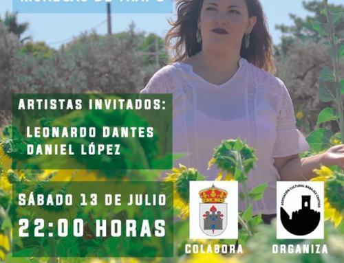 AZUAGA: MARINA CASTILLO ilusionada con su concierto en la Plaza de Toros (13/07/19)