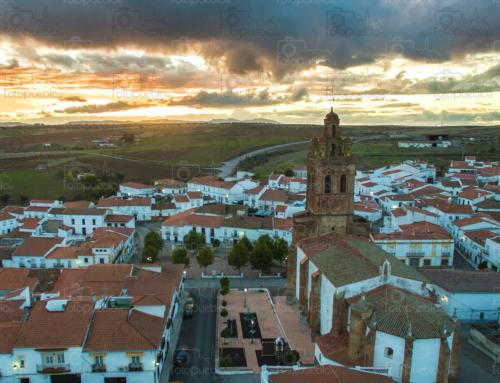 VALVERDE DE LLERENA en la Campiña Sur de Extremadura, está de FERIA