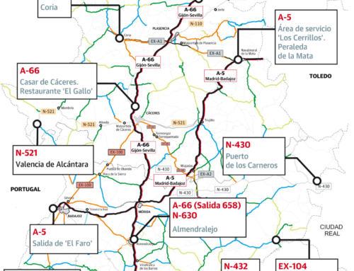 El campo extremeño se moviliza una vez mas y este martes 18 cortara carreteras de la región.