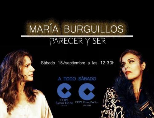 """La cantante extremeña MARÍA BURGUILLOS nos presenta su canción """"Parecer y ser"""""""