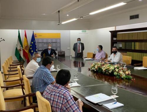 Los alcaldes de la SIERRA MOREN DE SEVILLA se reúnen con el Dir. Gral. de Políticas contra la Despoblación.