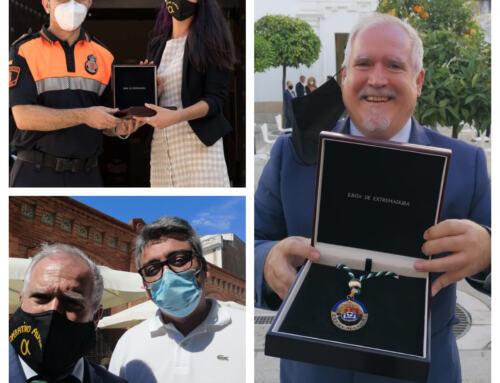 El OPERATIVO ALPHA recogió su merecida Medalla de Extremadura.