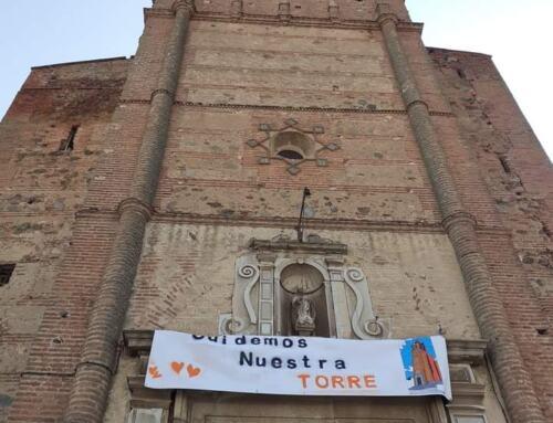 VALVERDE DE LLERENA inicia una colecta popular para reparar su torre