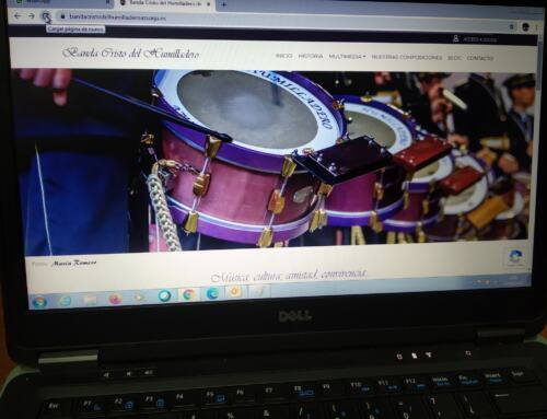 "La Banda de CCyTT ""Cristo del Humilladero"" de Azuaga estrena pagina web."
