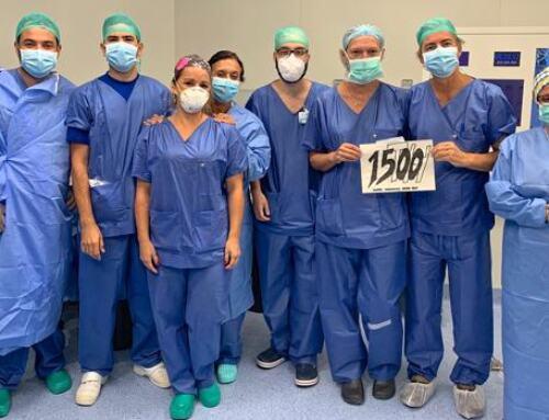 El Hospital Virgen del Rocío alcanza los 1500 trasplantes hepáticos en 30 años.