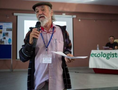 Fallece Armando Cáceres, histórico de Ecologistas en Acción y Premio Jabalí Sierra Norte de Sevilla.