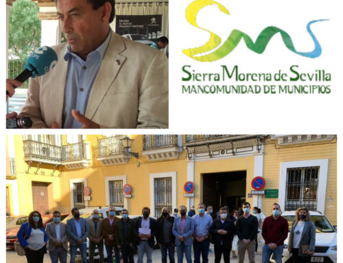 MANCOMUNIDAD SIERRA MORENA DE SEVILLA: Balance del año y felicitación en las Navidades del presidente, Sotero Martín.